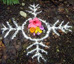 There are many different materials which can be used to draw sigils outdoors. It is best to use natural biodegradable ones no matter what – especially if you will not be destroying the sigil. Traditional materials include powdered white eggshell, corn meal, wheat flour, powdered barks, sand, and red brick dust. Even the material used can correspond to the sigil to be drawn. Drawing a sigil is itself an act of magic that can induce meditation and trance – think only of your intent as you lay...