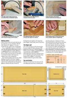 Wooden Pencil Case Plans - Woodworking Plans