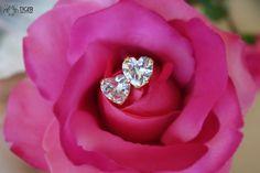 Heart Brilliant Cut 4 carat Flawless D color 8mm by TigerGemstones, $62.99