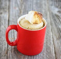 S'more Mug Cake and awesome website for many more lovely mug cupcakes