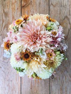 bouquet sposa con dalie