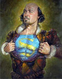 Las otras caras de Shakespeare. 15 ilustraciones disparatadas y satíricas // The other faces of Shakespeare. 15 funny and satirical illustrations . http://www.eraseunavezqueseera.com/2014/08/06/las-otras-caras-de-shakespeare/