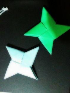 Origami ninja star Ninja Star, Origami, Stars, Origami Paper, Sterne, Origami Art, Star