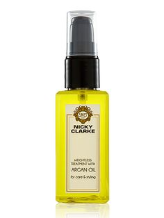 """#CosmoBestBeautyBuy Nicky Clarke Weightless Treatment with Argan Oil """"In a nutshell, this is well worth the money for those who want to add uber-shine to their blow dry, and to smooth frazzled ends"""""""