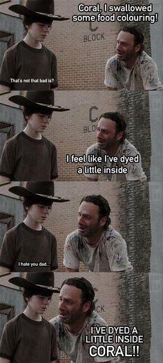 Carl jokes