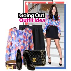 The Easiest (& Cutest!) Spring Outfit Idea Ever, Courtesy Of Atlanta De Cadenet, created by glamourmagazine on Polyvore