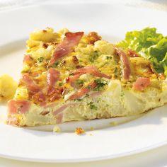 Frittata au chou-fleur, au jambon et au parmesan | PC.ca