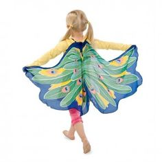 Encourage your fledglings to let their imaginations soar with these beautiful fabric wings. Each pair features shoulder straps and finger loops. Peacock Wings, Bird Wings, Building For Kids, Dress Up Costumes, Weekend Sale, Cyber, Exotic, Fancy, Disney Princess