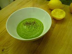 raw green soup!