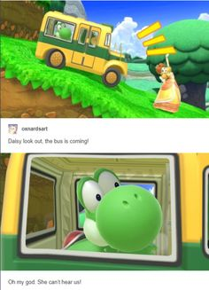 Daisy can't hear the bus - Smash brothers - Game's Super Smash Bros Memes, Nintendo Super Smash Bros, Super Mario Bros, Super Mario Memes, Video Game Memes, Video Games Funny, Funny Games, Gamer Humor, Gaming Memes