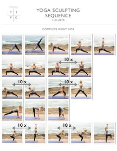 Meditation + Total Body Yoga Sculpt:  A yoga sequence complete with a full body workout from head to toe!