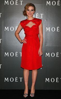 """Scarlett Johansson Attending Moet & Chandon """"Tribute To Cinema"""""""