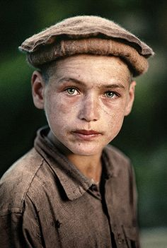 Boy from Nuristan, Afghanistan, 1990