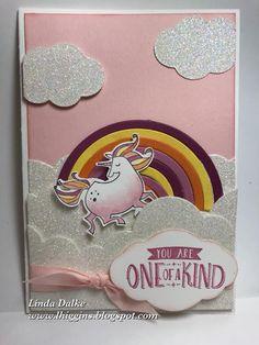 Sneak Peek: Rainbow Unicorn using the Magical Day stamp set