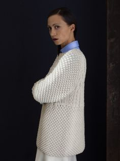 cables yoke sweater - knitbrary