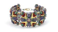 "Beading4perfectionists: AVA goes.... ""blingless"" bracelet beading tutorial"