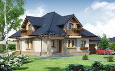 Проект дома с мансардой для небольшой семьи в Нижнем Новгороде