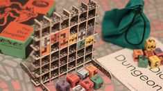 The Dungeon Waffle by Richard Massey — Kickstarter  A quick two payer game of dice, monsters, and a Waffle