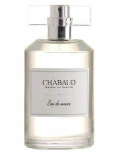 Eau de Source Chabaud Maison de Parfum for women and men