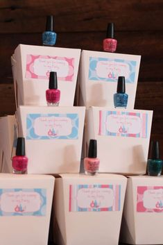 Debbie M's Birthday / Spa Party - Photo Gallery at Catch My Party Spa Sleepover Party, Kids Spa Party, Spa Birthday Parties, Pamper Party, Birthday Party Favors, Bachelorette Parties, Birthday Ideas, Makeover Party, Spa Party Favors