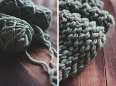 A Space Reinvented // The Simple Thick-Knit Throw » Oh, Hera. | A Simpler Take on Life.