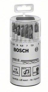 Set punte per metallo #BOSCH HSS-G, DIN 338, angolo dalla punta 135° #modellismo #utensili #elettroutensili #bricolage #hobby #faidate