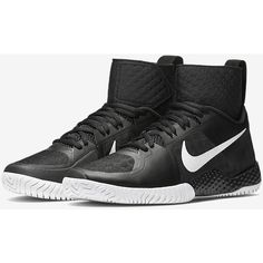 NikeCourt Flare Women's Tennis Shoe. Nike.com ($200) ❤ liked on Polyvore featuring shoes, nike shoes, sneakers tennis shoes, nike, nike footwear and tenny shoes