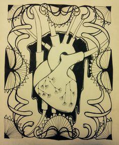 Heart. tush. 2014 Painting & Drawing, Paintings, Technology, Drawings, Heart, Artwork, Tech, Work Of Art, Paint