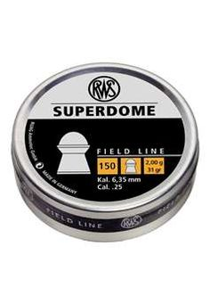 RWS Superdome Field Line 0.25 Caliber Airgun Ammunition | Buy Now at camouflage.ca