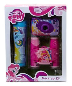 Another great find on #zulily! My Little Pony Adventure Set by My Little Pony #zulilyfinds