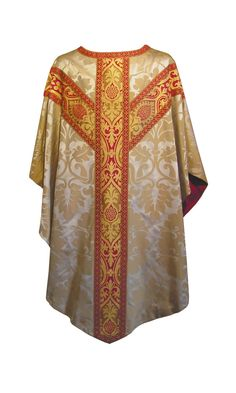 Gothic Chasuble and Stole (4171) - Standard - Chasubles - Sacred Vest
