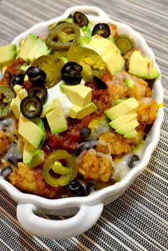 Ultimate Tatchos- I would find a way to make this healthy because this looks too amazing to not make!