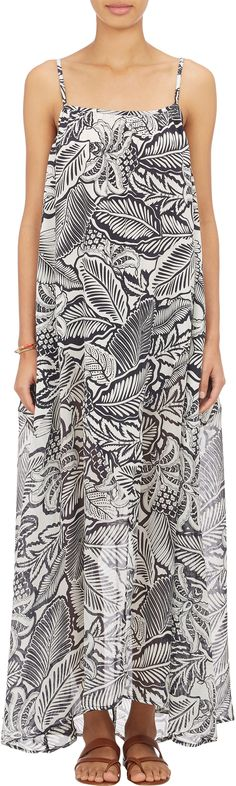 Banjanan Floral Crepe Maxi Dress at Barneys.com