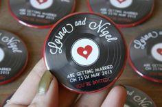 Originales save the date para tu boda [Fotos]