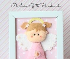 Barbara Handmade...: Aniołek dla Kaji / Angel for Kaja