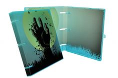 "The Zombies are coming! And they start with the UniKeep ""The Beginning"" digitally printed binder. This design is a must have, show your friends that you're not afraid of a zombie apocalypse. #zombies"