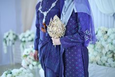 Malay Wedding Attire - Songket