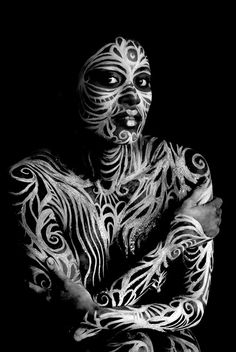 I saw the marks of the beast that existed inside her, seared in to her dark skin. She looked content with it; almost like she had a power that woman like us, didn't know.