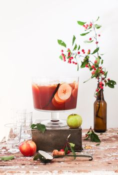 Sparkling Vanilla-Scented Apple Cider Punch