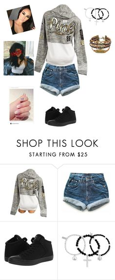 """""""meeting Gally (TMR)"""" by mrskiaparker ❤ liked on Polyvore featuring Victoria's Secret, Levi's, Converse and ChloBo"""