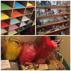 Little peek at my shop shelves