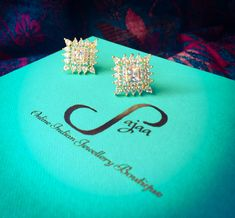 Handcrafted jewellery from Sajaa Online Indian Jewellery Boutique (www.sajaa.co.uk) #jewellery #onlinejewellery #handcrafted #earrings
