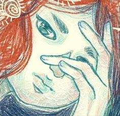#켡 #art #artwork #HYUNZ #illust #image #illustration #draw #drawing #visualart #일러스트 #그리다 #소녀 #우울 #gloomy #gif #girl #illustrator #animation
