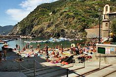 Vernazza Beach, Cinque Terre, Italy