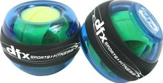 Powerball Sports Pro Gyro Exerciser - $19.95.  Powerball Sports Pro Gyro Exerciser is a perfectly balanced gyro capable of reaching speeds in excess of 13,000 rpm all powered simply by your own hand! Ideal for all swing-based sports or any sport that requires the use of your hands, wrists and arms. Perfect for toning, strengthening, and conditioning. Packaged with the gyro training cd and starter cord. #gifts #giftideas #giftsformen #fitgifts