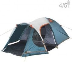 NTK INDY GT 3 to 4 Person 12 by 7 Foot Outdoor Dome Family Camping Tent 100 Waterproof European Design Easy Assembly Durable Fabric Full Coverage Rain fly Micro Mosquito Mesh * You can get more details by clicking on the image. (This is an affiliate link) Best 4 Person Tent, 4 Person Camping Tent, Best Tents For Camping, Cool Tents, Tent Camping, Camping Hacks, Best Family Tent, Family Camping, 5 Man Tent