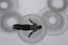Penwald Drawings by Tony Orrico, use of his body as a tool, Tony Orrico, body performance, bilateral drawings, Penwald Drawings, artists, body use in art, artworks