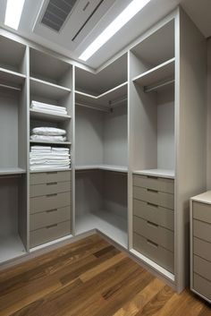And Her Closet Ideas Square Feet Corner Closet, Corner Wardrobe, Wardrobe Design Bedroom, Master Bedroom Closet, Bedroom Wardrobe, Wardrobe Closet, Master Suite, Closet Renovation, Closet Remodel