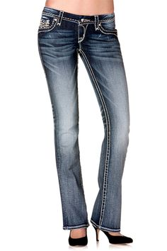 womens rock revival jeans | View detailed images (2) Miss Me Outfits, Casual Outfits, Rock Revival Jeans, My Outfit, What To Wear, Pants, Clothes, Shopping, Women