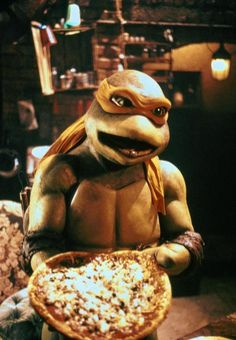 Brian and I would watch the old Ninja Turtle movies all the time